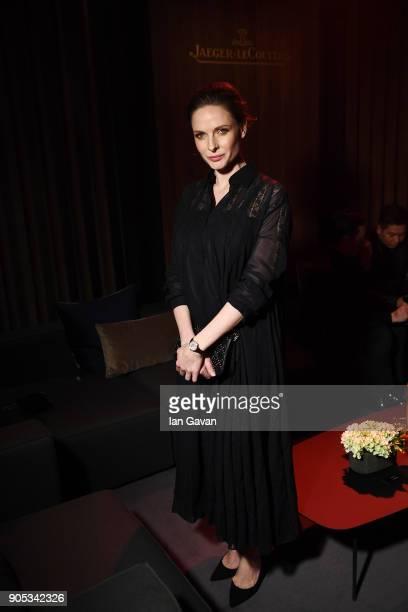 Rebecca Ferguson attends JaegerLeCoultre Polaris Gala Evening at the SIHH 2018 at Pavillon Sicli on January 15 2018 in Les Acacias Switzerland