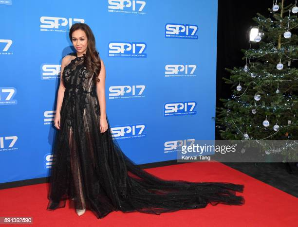 Rebecca Ferguson attends the BBC Sports Personality of the Year 2017 Awards at the Echo Arena on December 17 2017 in Liverpool England