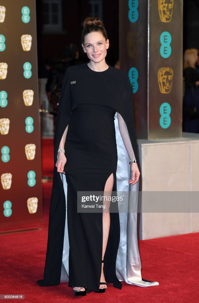 Rebecca Ferguson attends the EE British Academy Film Awards (BAFTAs) held at the Royal Albert Hall on February 18, 2018 in London, England.