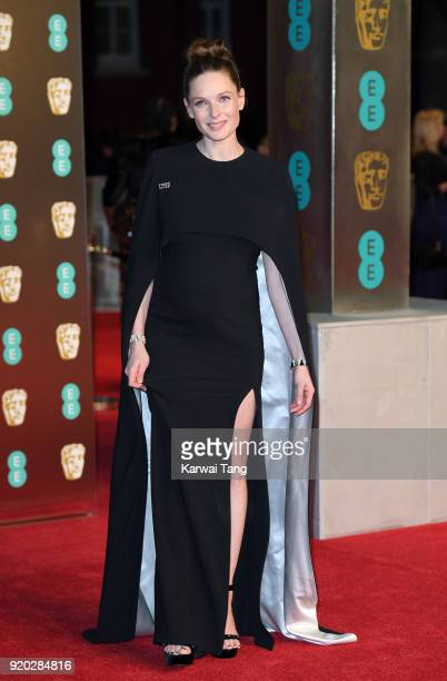Rebecca Ferguson attends the EE British Academy Film Awards held at the Royal Albert Hall on February 18 2018 in London England