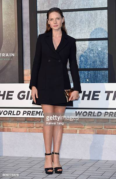 Rebecca Ferguson attends 'The Girl On The Train' World Premiere at Odeon Leicester Square on September 20 2016 in London England