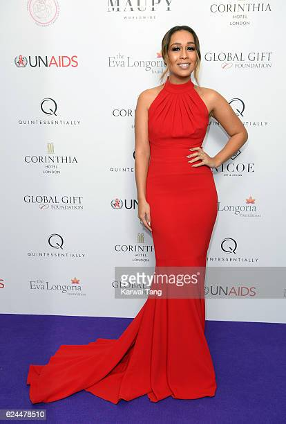 Rebecca Ferguson attends the Global Gift Gala in partnership with Quintessentially on November 19 2016 at the Corithinia Hotel in London United...