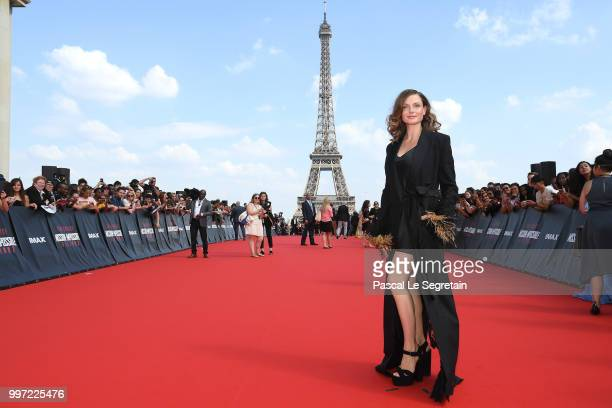 Rebecca Ferguson attends the Global Premiere of 'Mission Impossible Fallout' at Palais de Chaillot on July 12 2018 in Paris France