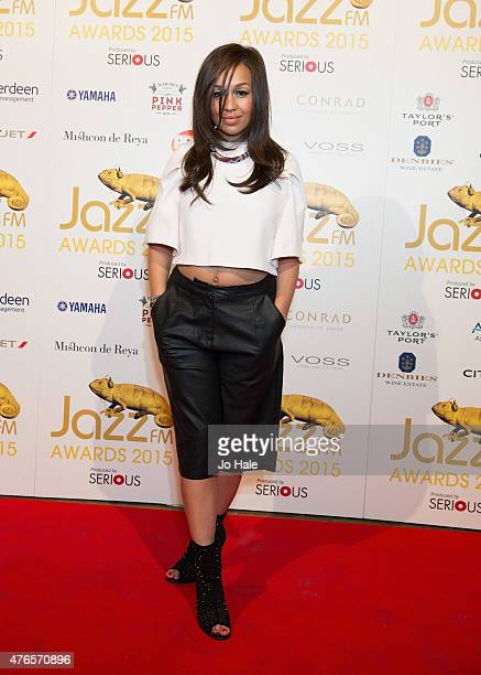 Rebecca Ferguson attends the Jazz FM Awards at Vinopolis on June 10 2015 in London England