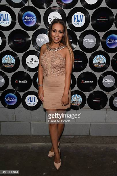 Rebecca Ferguson attends the Sony / ATV Writers' Party at The Vaults on October 8 2015 in London England
