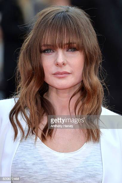 Rebecca Ferguson attends the World film premiere of 'Florence Foster Jenkins' at Odeon Leicester Square on April 12 2016 in London England
