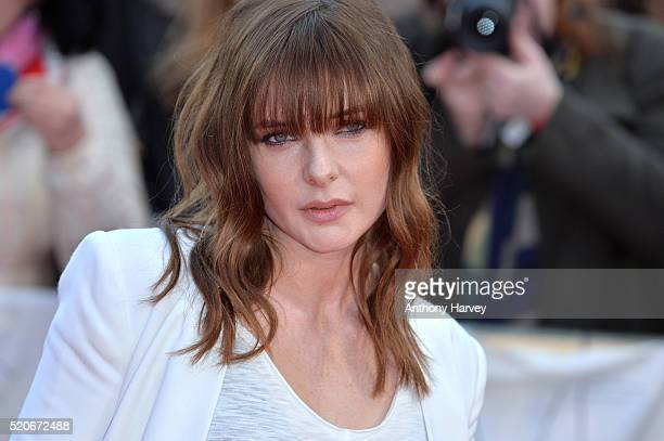 """Rebecca Ferguson attends the World film premiere of """"Florence Foster Jenkins"""" at Odeon Leicester Square on April 12, 2016 in London, England."""