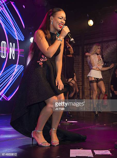Rebecca Ferguson performs at GAY Club Heaven on October 15 2016 in London England