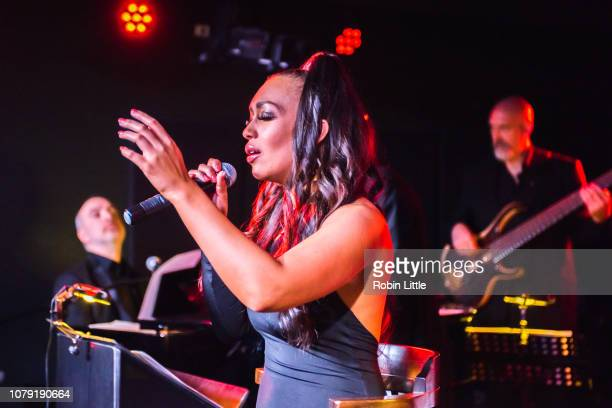 Rebecca Ferguson performs live at Boisdale of Canary Wharf on January 7, 2019 in London, England.
