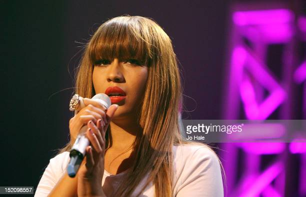Rebecca Ferguson performs on stage during iTunes Festival at The Roundhouse on September 16 2012 in London United Kingdom