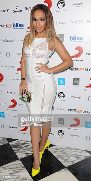 Rebecca Fergusson attends The BRIT Awards 2014 Sony after party on February 19 2014 in London England