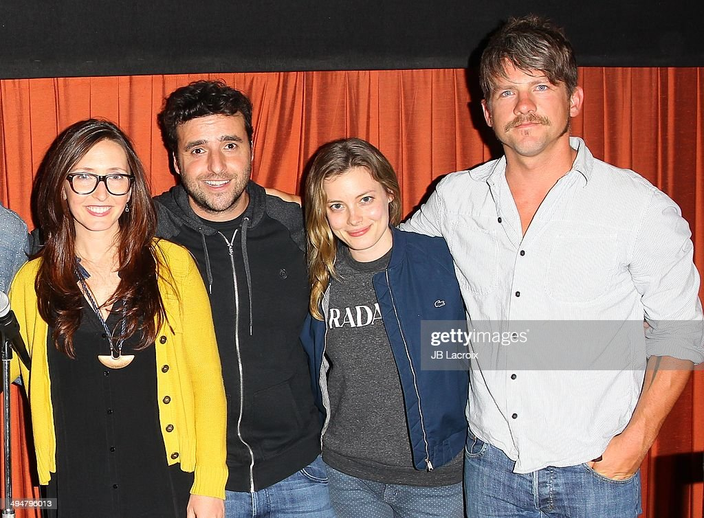 Rebecca Fishman, David Krumholtz, Gillian Jacobs and Zachary Knighton attend the 'The Big Ask' Los Angeles special screening and Q&A on May 30, 2014 in Santa Monica, California.