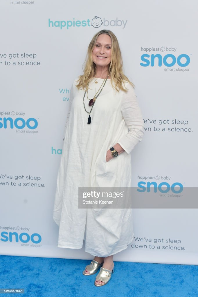 Rebecca Foster attends Jessica Biel and Dr. Harvey Karp Celebrate Moms, Dads and their Favorite Helper, the SNOO at Au Fudge Los Angeles on May 16, 2018 in West Hollywood, California.