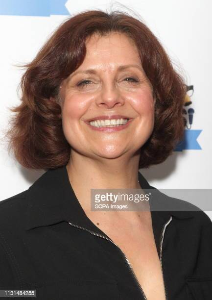 Rebecca Front at the Chortle Comedy Awards at FEST, Camden Town.