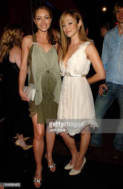 Rebecca Gayheart and Autumn Reeser during Entertainment Weekly Magazine 4th Annual PreEmmy Party Inside at Republic in Los Angeles California United...