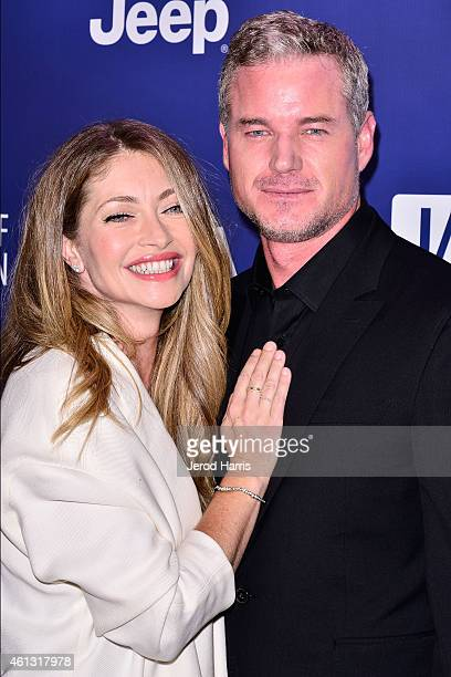 Rebecca Gayheart and Eric Dane arrive at the 4th Annual Sean Penn Friends 'Help Haiti Home' Gala Benefit at the Montage Hotel on January 10 2015 in...