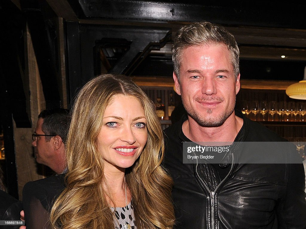 Rebecca Gayheart and Eric Dane attend the 2013 CAA Upfronts Party on May 14, 2013 in New York City.