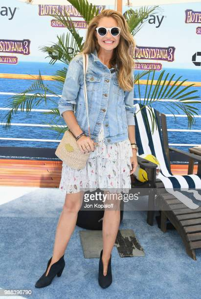 Rebecca Gayheart attends Columbia Pictures And Sony Pictures Animation's World Premiere Of Hotel Transylvania 3 Summer Vacation at Regency Village...