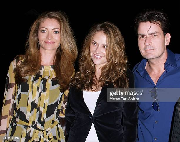 Rebecca Gayheart Brooke Allen and Charlie Sheen during 4th Annual Best in Drag Show to Benefit Aid for AIDS at WilshireEbell Theater in Los Angeles...