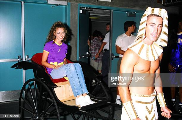 Rebecca Gayheart during 1995 MTV's Rock n' Jock Basketball in Los Angeles California United States
