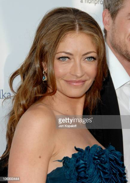 Rebecca Gayheart during Sixth Annual Chrysalis Butterfly Ball Arrivals at Home of Susan Harris Hayward Kaiser in Mandeville Canyon California United...