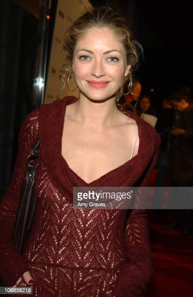 Rebecca Gayheart during The Art of Elysium Presents Russel Young fame shame and the realm of possibility Hosted by Balthazar Getty and Joaquin...