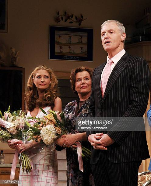Rebecca Gayheart Marsha Mason and Robert Harling during Steel Magnolias Opening Night on Broadway Arrivals and Curtain Call at Lyceum Theatre in New...