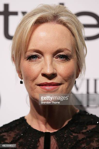 Rebecca Gibney arrives at the Instyle and Audi 'Women of Style' Awards on May 21 2014 in Sydney Australia