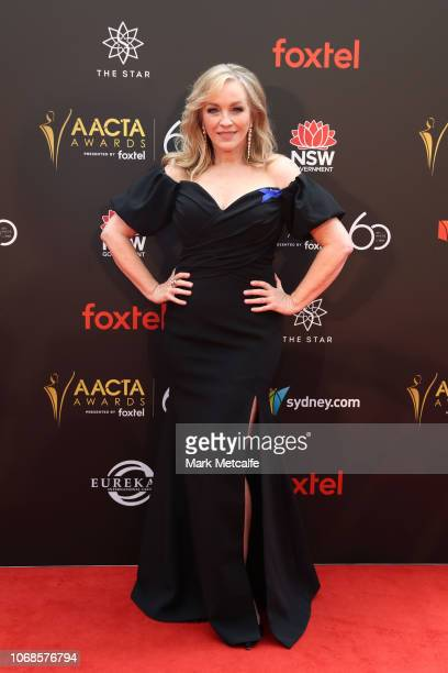 Rebecca Gibney attends the 2018 AACTA Awards Presented by Foxtel at The Star on December 5 2018 in Sydney Australia