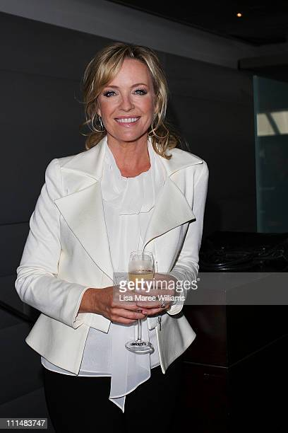 Rebecca Gibney attends the 53rd TV Week Logie Awards nominations announcement at the Overseas Passenger Terminal on April 3 2011 in Sydney Australia