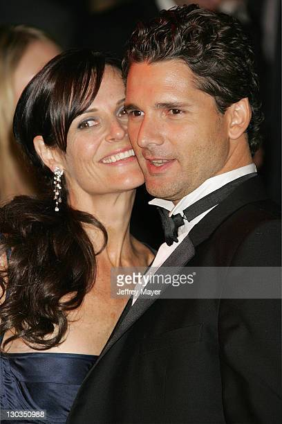 Rebecca Gleeson and Eric Bana during 2006 Vanity Fair Oscar Party Hosted by Graydon Carter Arrivals at Morton's in West Hollywood California United...