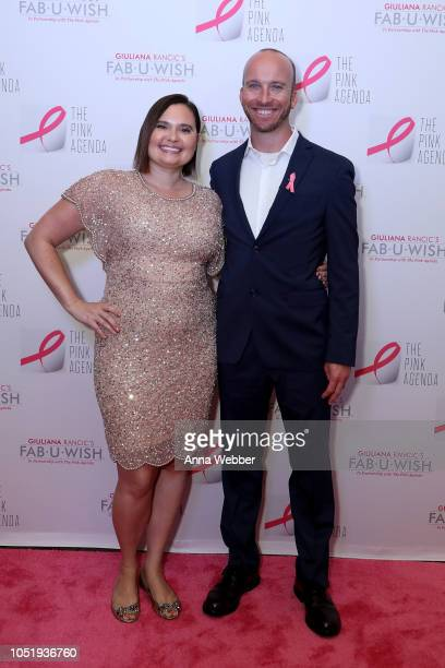 Rebecca Hall and Evan Dickson attend The Pink Agenda's Annual Gala at Tribeca Rooftop on October 11 2018 in New York City