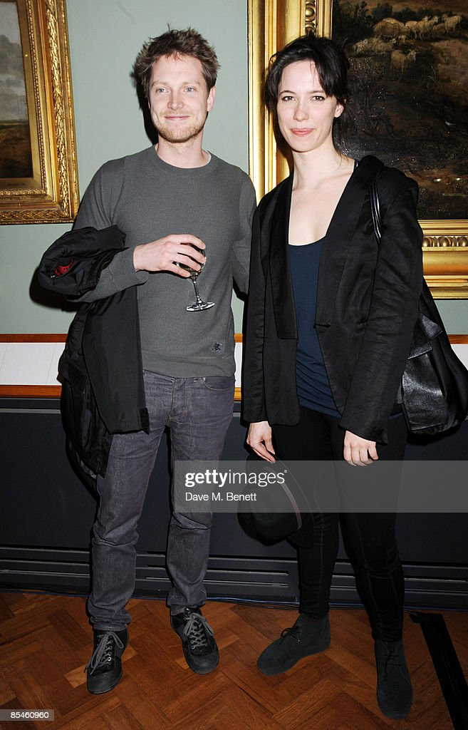 Rebecca Hall and guest attend the launch party for the Victoria & Albert Museum's new theatre and performance galleries, which were opened by Sir Peter Hall and Labour's new Culture Minister Barbara Follett at the Victoria & Albert Museum on March 16, 2009 in London, England.