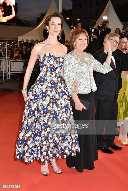 Rebecca Hall and Penelope Wilton attend 'The BFG ' premiere during the 69th annual Cannes Film Festival at the Palais des Festivals on May 14, 2016...