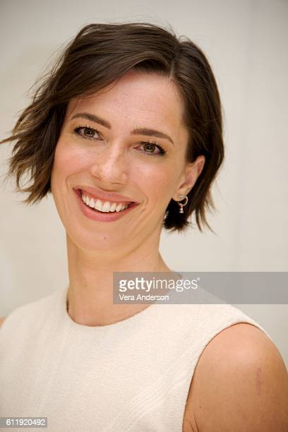 Rebecca Hall at the 'Christine' Press Conference at the Four Seasons Hotel on September 29 2016 in Beverly Hills California