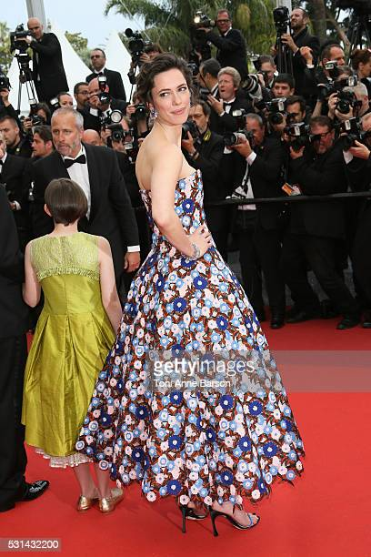 Rebecca Hall attends a screening of The BFG at the annual 69th Cannes Film Festival at Palais des Festivals on May 14 2016 in Cannes France