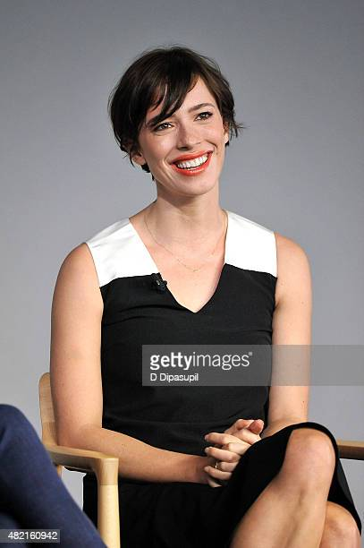 Rebecca Hall attends Meet the Filmmaker Joel Edgerton and Rebecca Hall 'The Gift' at Apple Store Soho on July 27 2015 in New York City