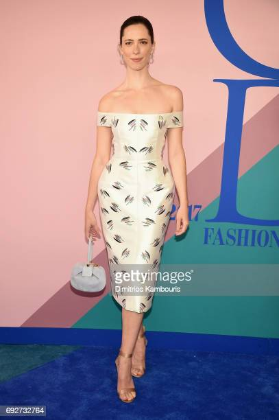Rebecca Hall attends the 2017 CFDA Fashion Awards at Hammerstein Ballroom on June 5 2017 in New York City