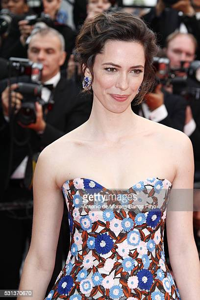 """Rebecca Hall attends """"The BFG"""" premier during the 69th Annual Cannes Film Festival on May 14, 2016 in Cannes, ."""