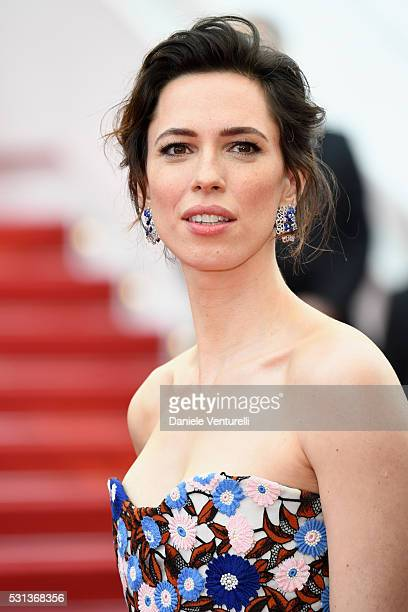 Rebecca Hall attends The BFG premiere during the 69th annual Cannes Film Festival at the Palais des Festivals on May 14 2016 in Cannes France