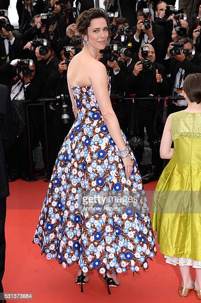 Rebecca Hall attends the 'The BFG ' premiere during the 69th annual Cannes Film Festival at the Palais des Festivals on May 14, 2016 in Cannes,...