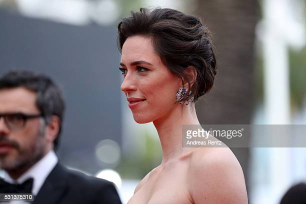Rebecca Hall attends the The BFG Premiere during the annual 69th Cannes Film Festival at the Palais des Festivals on May 14 2016 in Cannes France