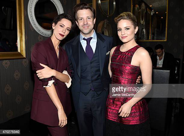 Rebecca Hall Jason Sudeikis and Dianna Agron attend the 2015 Tribeca Film Festival After Party for 'Tumbledown' sponsored by Freixenet Spanish Cava...