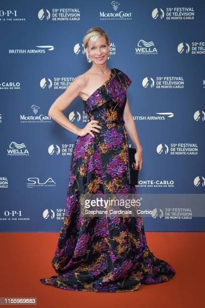 Rebecca Hampton attends the opening ceremony of the 59th Monte Carlo TV Festival on June 14, 2019 in Monte-Carlo, Monaco.