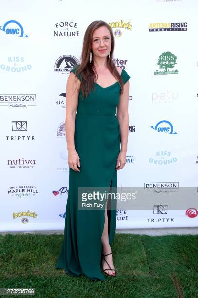Rebecca Harrell Tickell attends a Special DriveIn Screening of KISS THE GROUND available on Netflix September 22 2020