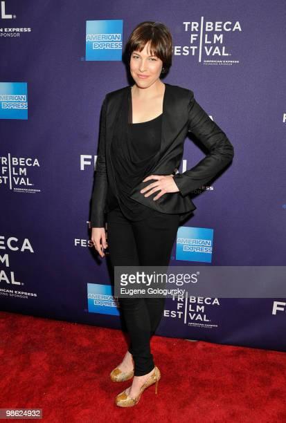 Rebecca Henderson attends the 'Meskada' premiere at the 9th Annual Tribeca Film Festival at Village East Cinema on April 22 2010 in New York City