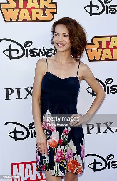 Rebecca Herbst attends the Disney's VIP Halloween event at Disney Consumer Products Campus on October 1, 2014 in Glendale, California.