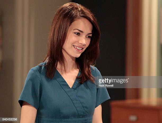 """Rebecca Herbst in a scene that airs the week of June 20, 2016 on Walt Disney Television via Getty Images's """"General Hospital."""" The Emmy-winning..."""