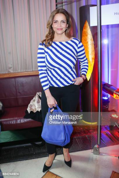 Rebecca Immanuel attends the Blaue Blume Awards 2017 at Sony Center on February 8 2017 in Berlin Germany