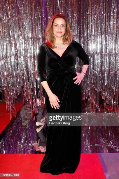 Rebecca Immanuel attends the Ein Herz Fuer Kinder Gala reception at Studio Berlin Adlershof on December 9 2017 in Berlin Germany
